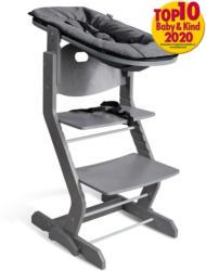 Babyaufsatz für Hochstuhl, grau-anthrazit Grau - Anthrazit