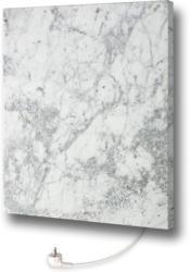 Design-Heizkörper aus Carrara Marmor, mit Thermostat, 50x60 cm 50x60 cm