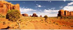 """Design-Heizkörper """"Monument Valley"""", mit Thermostat, 40x100 cm"""