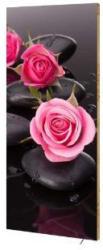 "Design-Heizkörper ""Roses"", mit Thermostat, 40x100 cm"