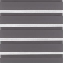 "Flächenvorhang ""Day+Night"", 245x60 cm, grau"