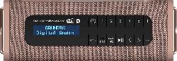 GRUNDIG GBT BAND Bluetooth Lautsprecher, Braun