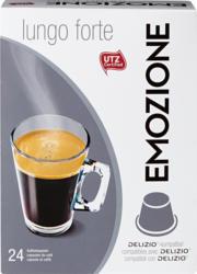 Capsule di caffè Lungo forte Emozione, compatibili con le macchine Delizio, 24 capsule