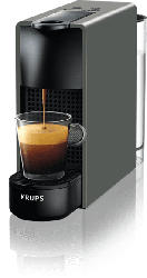 Nespresso Kaffeemaschine Essenza Mini Intense Grey XN 110B