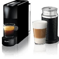 Nespresso Kaffeemaschine Essenza Mini + Milk Piano Black XN 1118