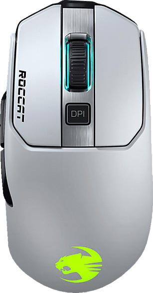 ROCCAT Kain 202 AIMO Gaming Maus, Weiß