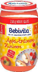 Bebivita Früchte Apfel-Erdbeere-Himbeere, ab dem 5. Monat