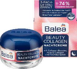 Balea Beauty Collagen Nachtcreme mit Collagen-Booster