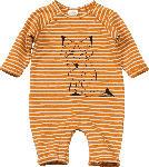 dm-drogerie markt PUSBLU Baby Overall, Gr. 68, in Baumwolle und Elasthan, braun