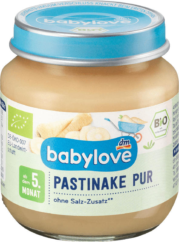 babylove Gemüse Pastinake pur ab 5. Monat