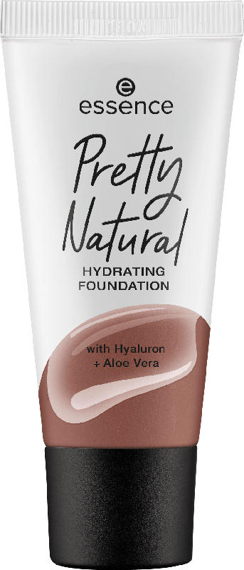 essence cosmetics Make-up Pretty Natural hydrating foundation Warm Deep Spice 295