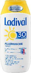 Ladival Sonnenmilch Gel, allergische Haut, LSF 30