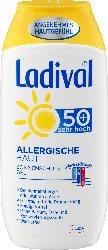 Ladival Sonnenmilch Gel, allergische Haut, LSF 50+