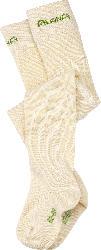 ALANA Baby-Strumpfhose, Gr. 86/92, in Bio-Baumwolle und Elasthan, natur, für Mädchen und Jungen