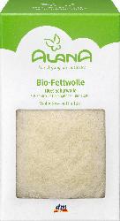ALANA Bio-Fettwolle zum Zupfen, kbT