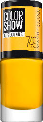 Maybelline New York Nagellack Colorshow 60 Seconds electric yellow 749