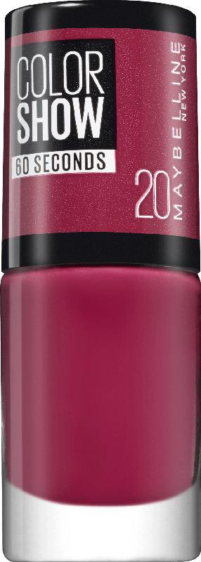 Maybelline New York Nagellack Colorshow Blush Berry 20