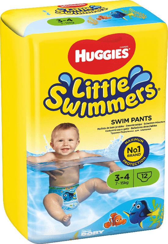 Huggies Little Swimmers Schwimmwindeln, Gr. 3/4, 7-15 kg