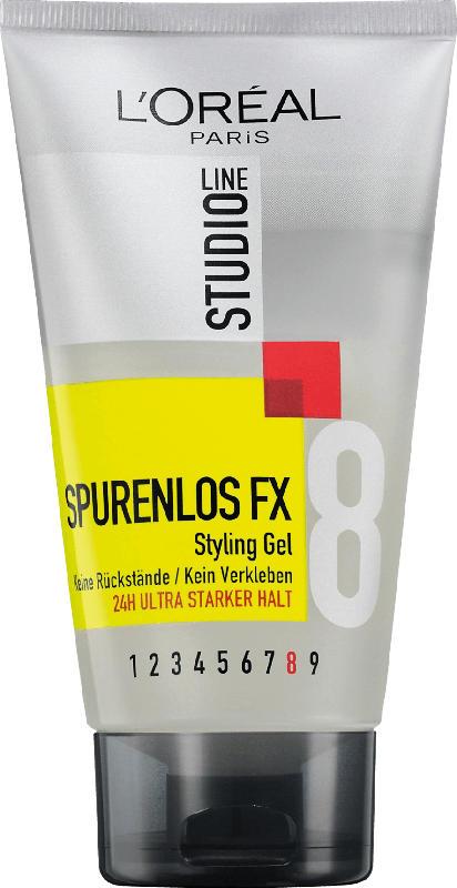 L'oréal Studio Line Styling Gel Spurenlos FX Ultra Starker Halt