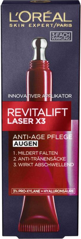 L'ORÉAL PARIS Augencreme Revitalift Laser X3 Anti-Age
