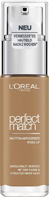 L'ORÉAL PARIS Make-up Perfect Match Hautton-Anpassendes Make-Up 8.D/8.W Golden Cappuccino