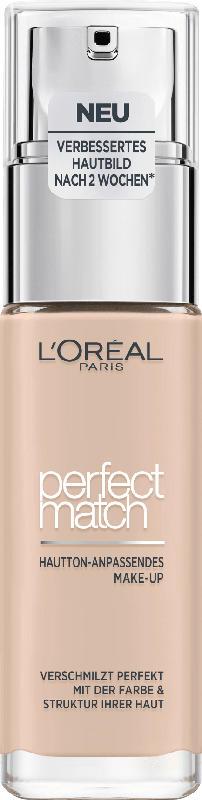 L'ORÉAL PARIS Make-up Perfect Match Hautton-Anpassendes Make-Up 0.5.R/0.5.C Rose Porcelain