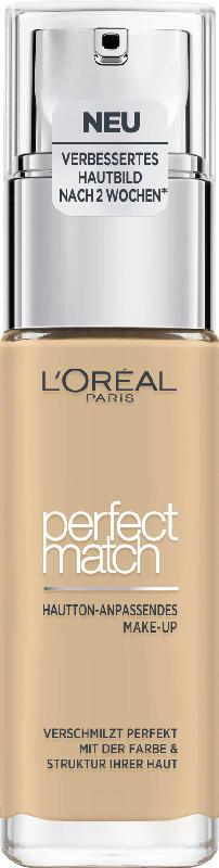 L'ORÉAL PARIS Make-up Perfect Match Hautton-Anpassendes Make-Up 2.D/2.W Golden Almond