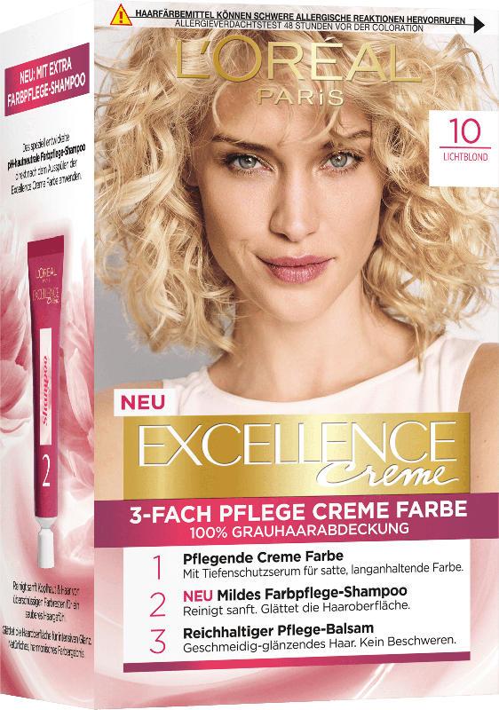 Excellence Haarfarbe Lichtblond 10, 1 St