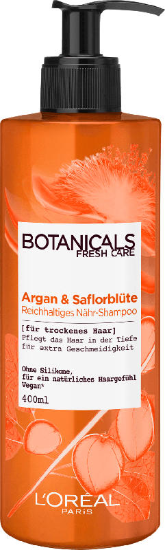 L'Oréal Botanicals Fresh Care Shampoo Saflorblüte Reichhaltige Nährung