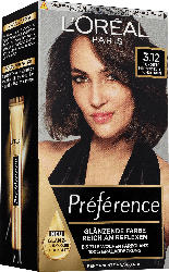 L'Oréal Paris Préférence Haarfarbe Intensives Kühles Dunkelbraun, 3.12 Toronto