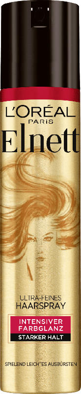 Elnett Haarspray coloriert