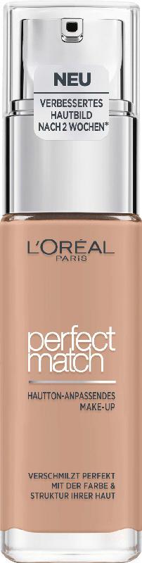 L'ORÉAL PARIS Make-up Perfect Match Hautton-Anpassendes Make-Up 3.5.D/3.5.W Golden Peach