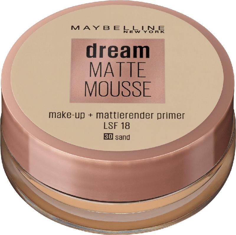 Maybelline New York Dream Matte Mousse Make-up sand 30