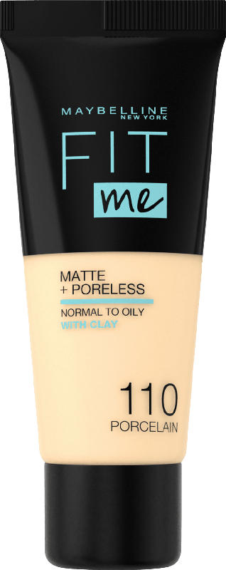 Maybelline New York Make-up Fit Me Matte & Poreless porcelain 110