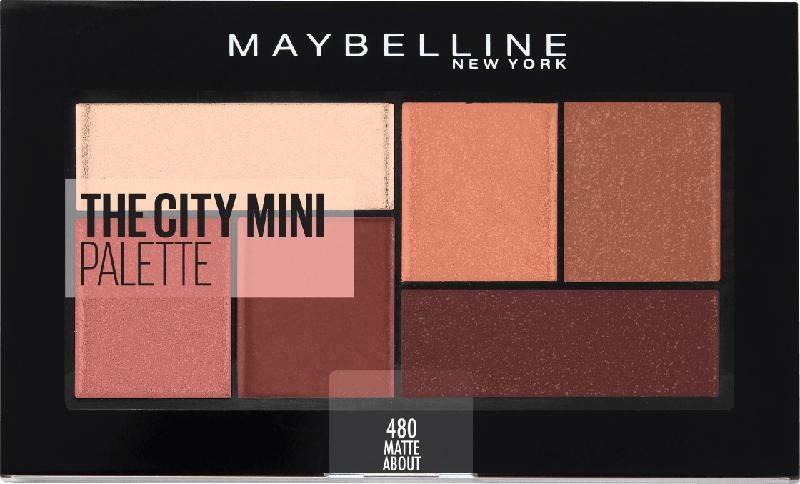Maybelline New York Lidschattenpalette The City Mini Palette 480 matte about town