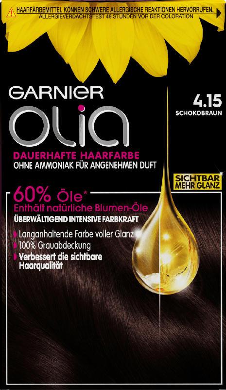 Olia Haarfarbe Schokobraun 4.15