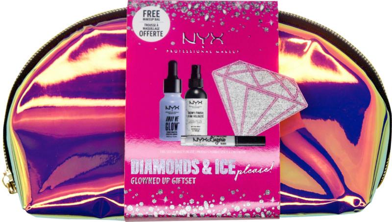 NYX PROFESSIONAL MAKEUP Geschenkset Diamonds and Ice, please Essential Glow Set
