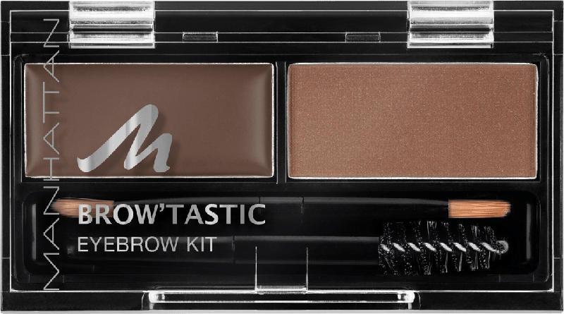 MANHATTAN Cosmetics Augenbrauen Set Brow'Tastic Eyebrow Kit Brow-nie 002