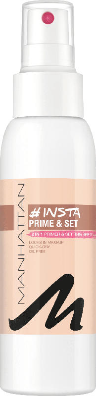 MANHATTAN Cosmetics Fixierspray Insta Prime & Set Spray