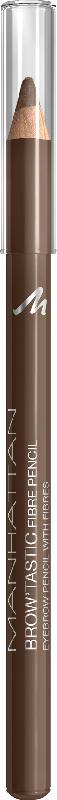 MANHATTAN Cosmetics Augenbrauenstift Brow'Tastic Fibre Pencil Medium Brown 002