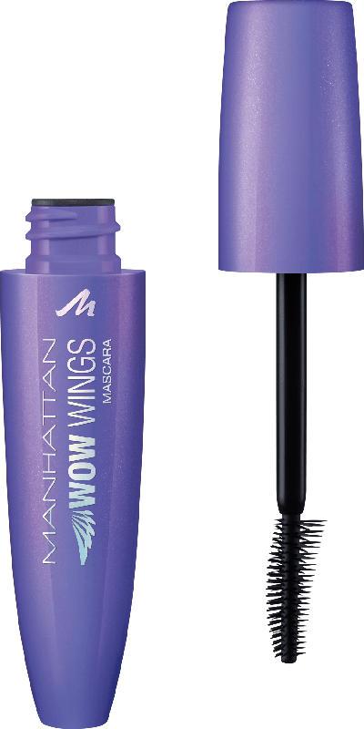 MANHATTAN Cosmetics Wimperntusche Wow Wings Mascara black 1010N