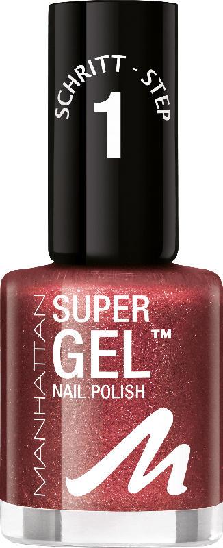 MANHATTAN Cosmetics Nagellack Super Gel Nail Polish Make it POP 83