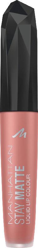 MANHATTAN Cosmetics Lipgloss Stay Matte Liquid Lip Colour Raw Kiss 105