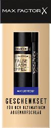 Max Factor Geschenk-Set False Lash Effect Mascara Waterproof + Kohl Kajal Black 20