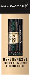 Max Factor Geschenk-Set False Lash Effect Mascara Deep Raven Black + Kohl Kajal Black 20