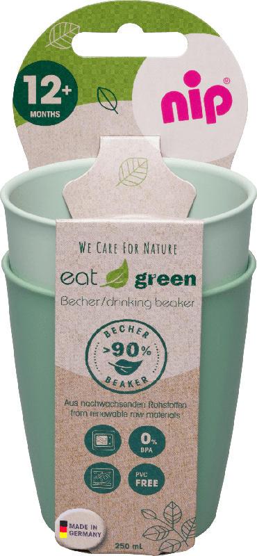 Nip Becher eat green grün