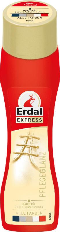Erdal Schuhcreme Schuhschwamm Express Pflegeglanz Farblos