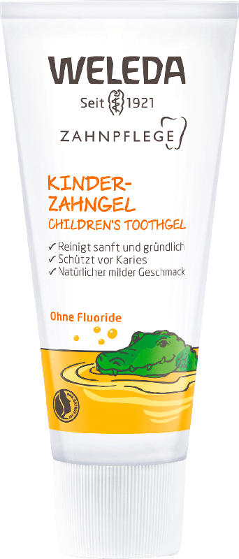 Weleda Zahnpasta Gel Kinder, fluoridfrei
