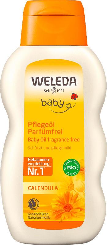 Weleda Babyöl Baby Calendula Pflegeöl Parfümfrei