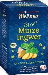 Meßmer Minze-Ingwer Bio (20 x 1,8 g)